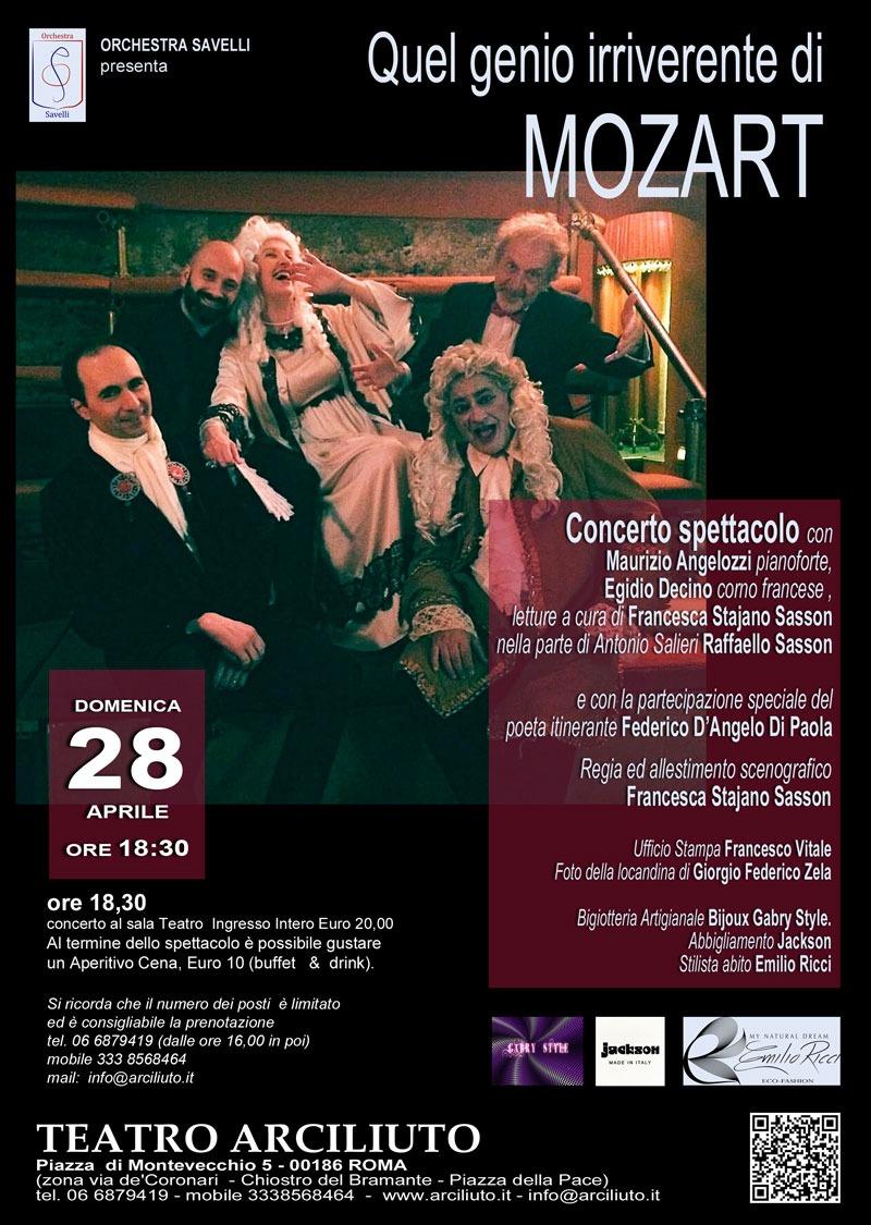 a76eb8f14b Quel genio irriverente di Mozart: il nuovo viaggio dedicato alla magia