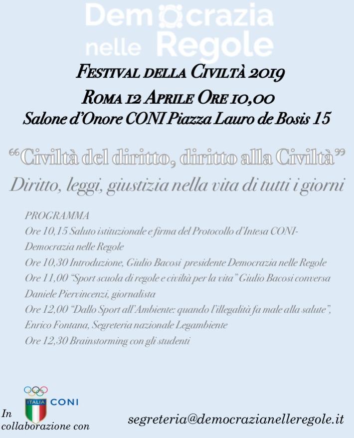 4fd8c67e5e Festival della Civiltà a Roma